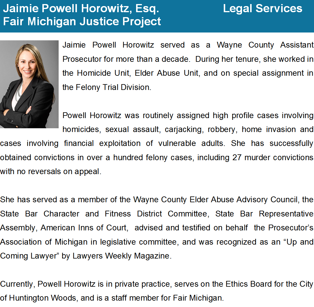 Powell-Horowitz bio with new pic